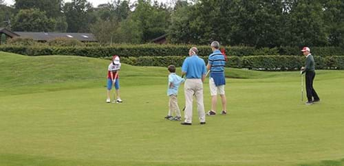Junior members on the Repton Short Course