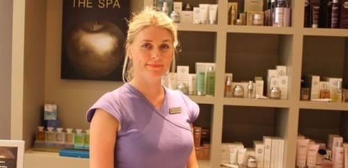 Spa Manager Kelly-Anne Head