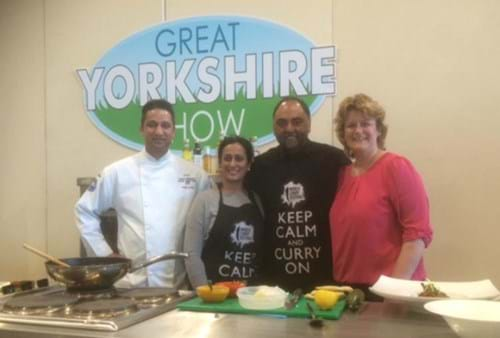 World Curry Festival team with Steph