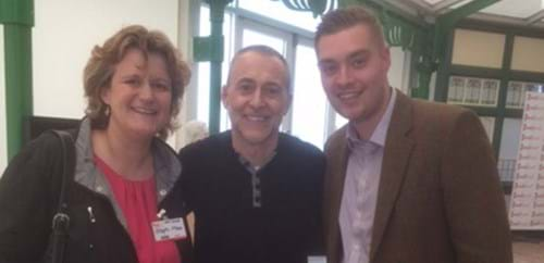 Steph & Will with Michel Roux