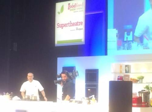 Michel Roux in action