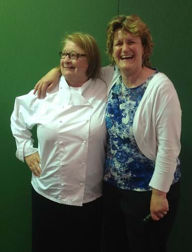 Rosemary Shrager & Steph