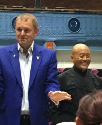 Sir Gary Verity introduces Ken Hom