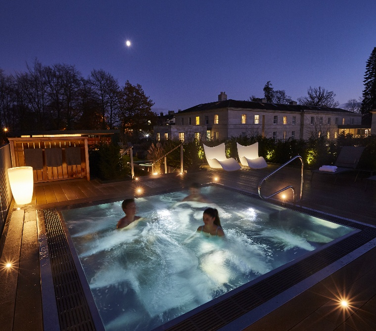 Spa In A Garden Setting Roof Top Spa Experiences Rudding Park Spa