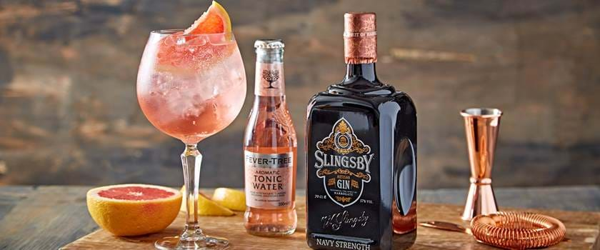 Slingsby Gin with Tonic Water