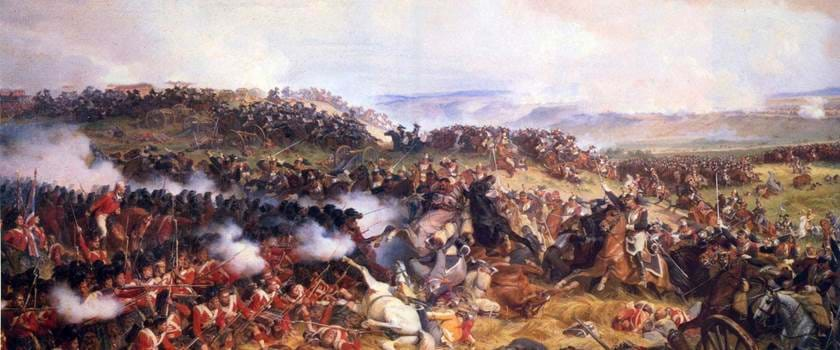 French Cuirassiers Battle of Waterloo