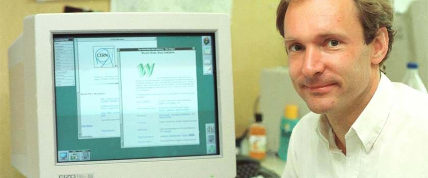 Tim Werners Lee invents World Wide Web