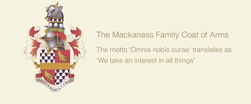 The Mackaness Family Coat of Arms